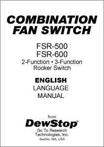 FSR-500 and FSR-600 Product Manual